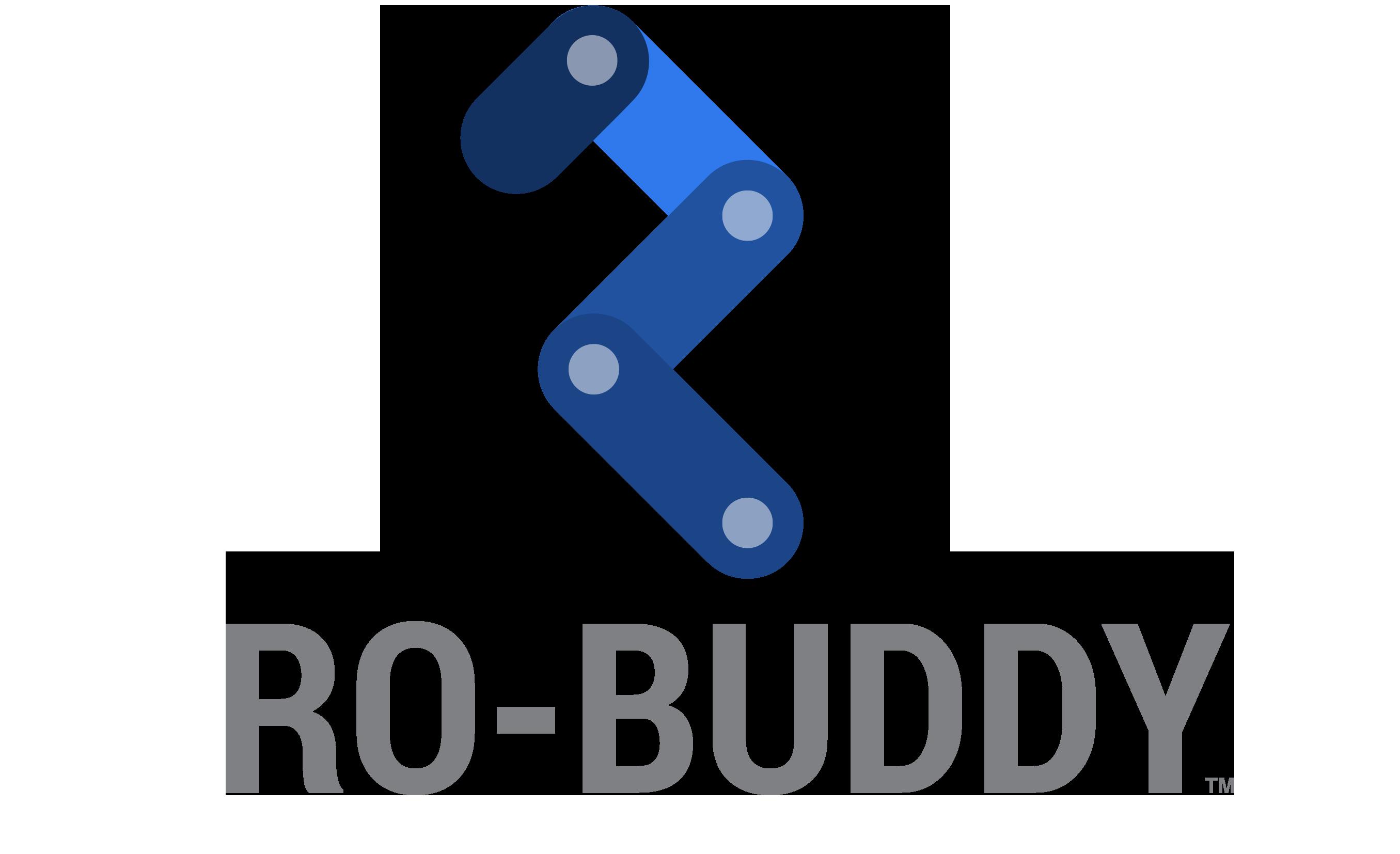 Ro-buddy logo fritlagt